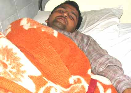 Two cadres of Nepali Congress who were beaten up by the army on the day of municipal elections (Feb 8) are undergoing treatment.