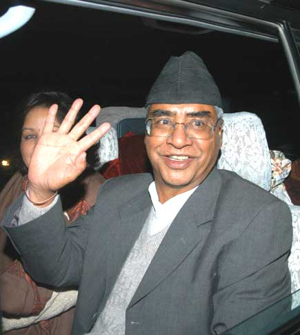 Royal government freed former prime minister Sher Bahadur Deuba and former minister Prakash man Singh on Monday night hours after the Supreme Court (SC) scrapped the RCCC.