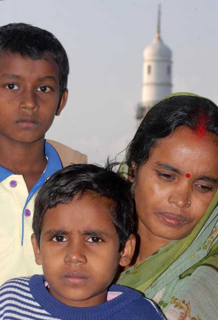 family of journalist birendra sah