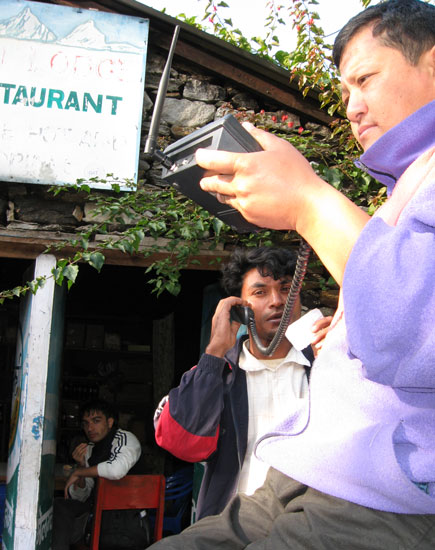 CDMA phone revolution in Nepali villages