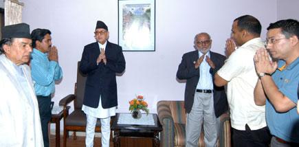 Kantipur visits PM