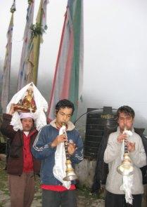 A Hindu Festival in a Buddhist Monastery