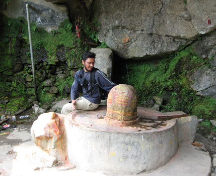 Wagle with Shiva Linga