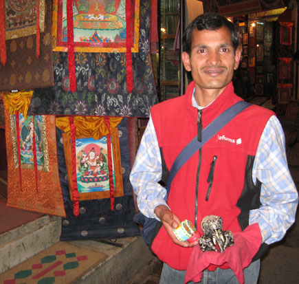 Life of Thamel in an evening