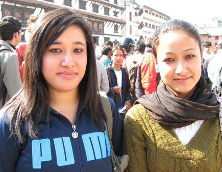 international volunteers day in kathmandu nepal