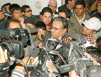 maoist chairman prachanda