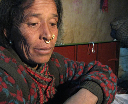 nepali migrant worker returns home in west nepal