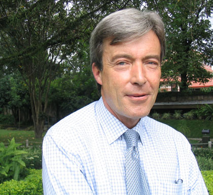 Andrew Hall, the British Ambassador to Nepal