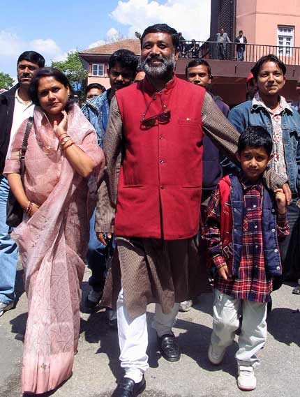 Pradeep Giri and Bimalendra Nidhi released