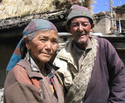 Pema with her husband