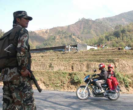 First day of three-week-long blocked called by the Maoists