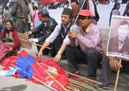 Democracy Day Celebration in Nepal