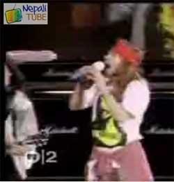 guns n roses nepali video