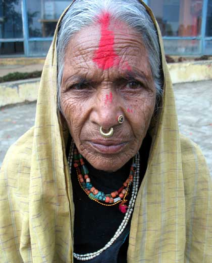jumla woman janma devi acharya returning home