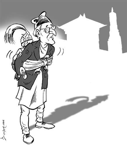 Prime Minister Girija Prasad Koirala advocates for Ceremonial Monarchy