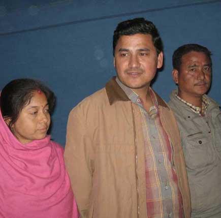 freed from maoist captivity