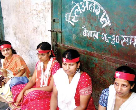 maoist girls fasting