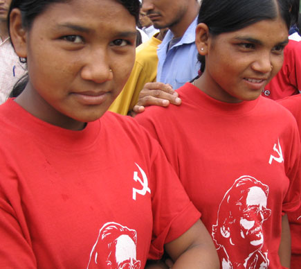 Images from Maoist Mass Meeting in Kathmandu
