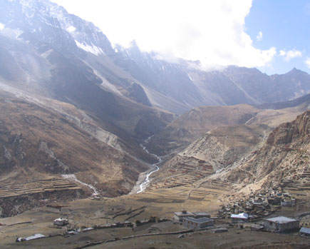 Nar Village in Manang