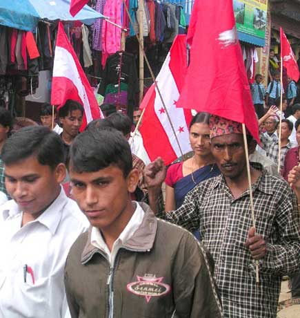 nepal celebrates historic agreement