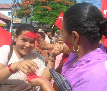 nepal celebrates democracy victory...parliament declaration