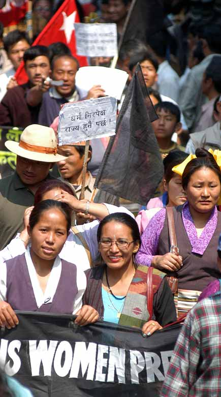 Nepal Indigenous Protest Rally Against Monarchy