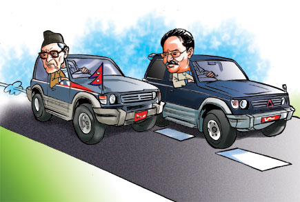 nepali leaders misuse vehicles
