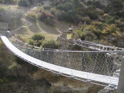 Bridges at Nar Phedi