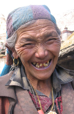 Pema Smiling