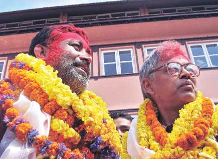 Pradeep Giri and Bimalendra Nidhi