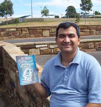 Ravi Thapaliya, the writer of Echoes of Pain
