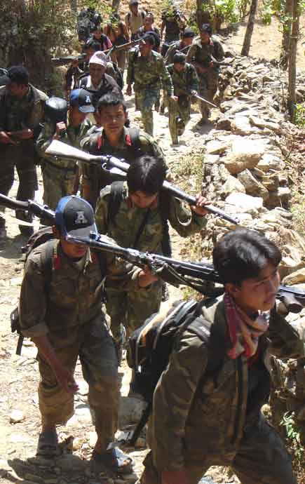 Thokarpa Army Aerial Attack Over Maoist Meeting