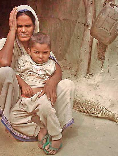 family of those who were killed by inspector dhungana