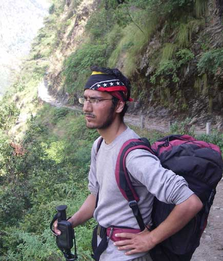 Wagle on the Kanak Ridge