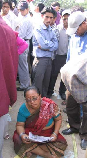 Woman in Khula Manch