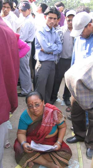 Woman in Khula Manch