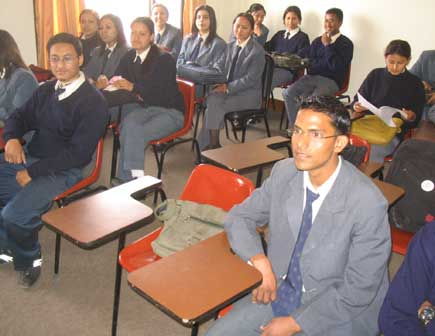 himalayan white house students