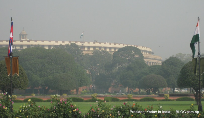 Nepal President visits India