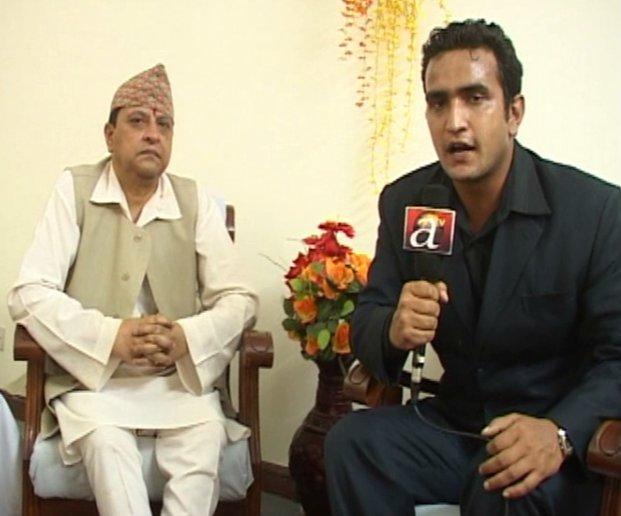ex king gyanendra interview