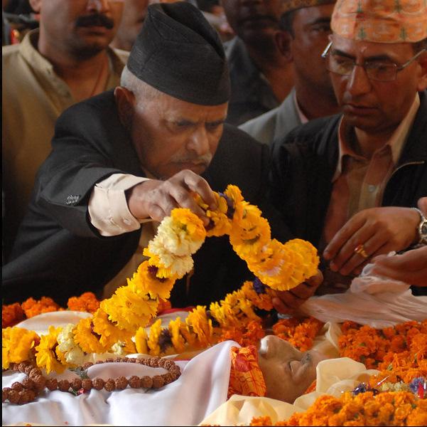 president rambaran yadav pays tribute to koirala