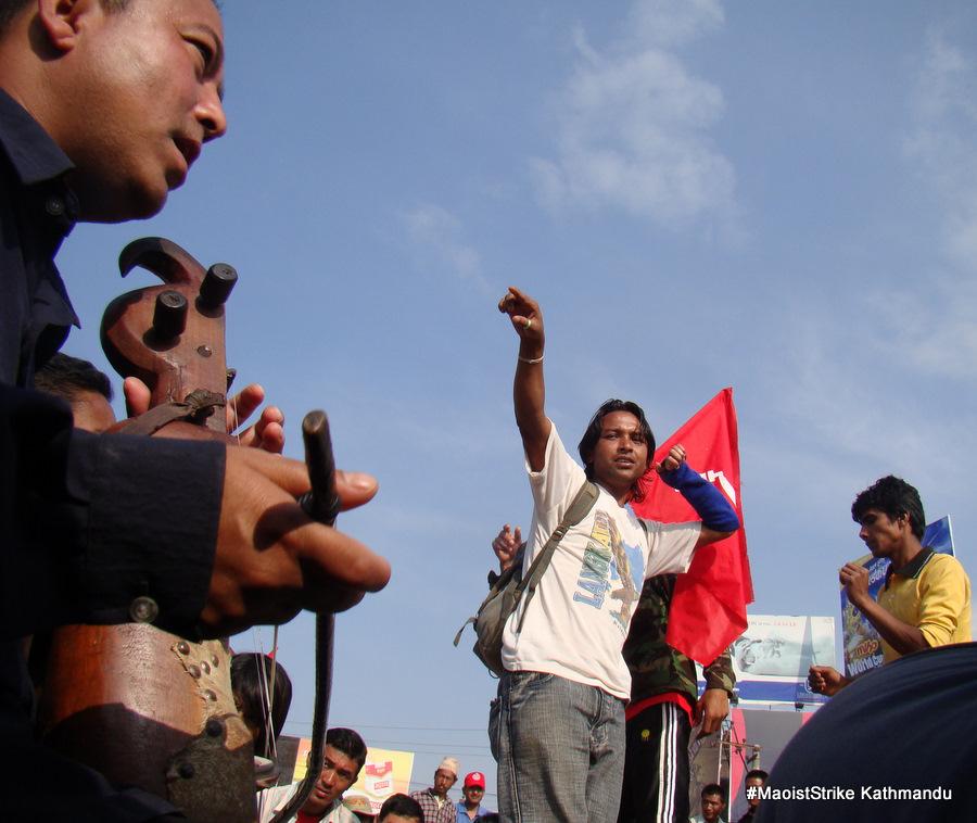 maoist strike day two