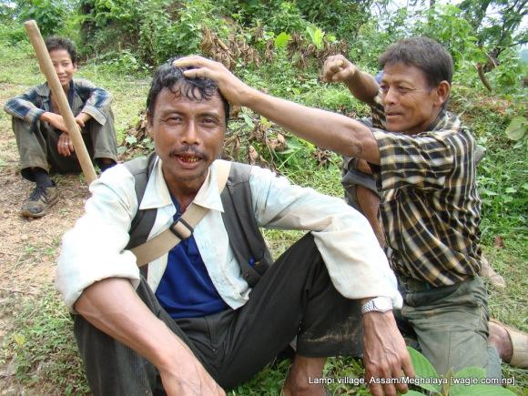 lampi village gorkha and khasi