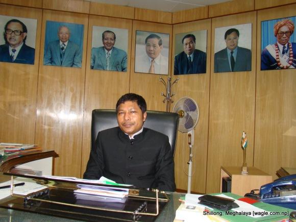 meghalaya chief minister mukul sangma