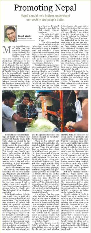 promoting nepal in india kathmandu post 8aug10