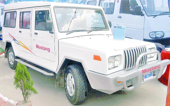 mustang hulas jeep