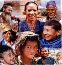 people of nepal