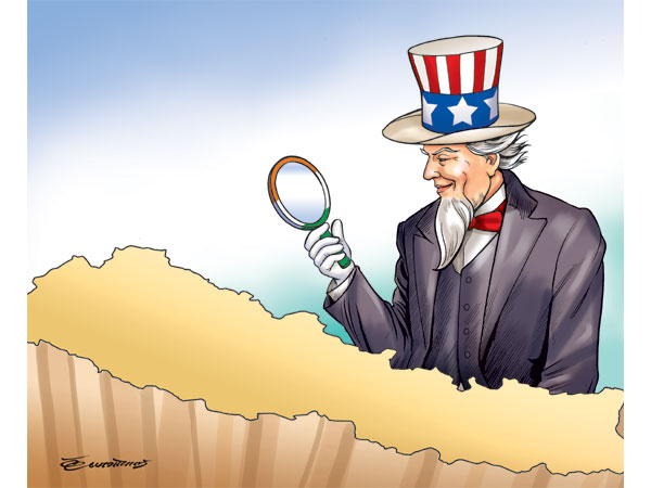 how uncle sam sees nepal through indian eyes