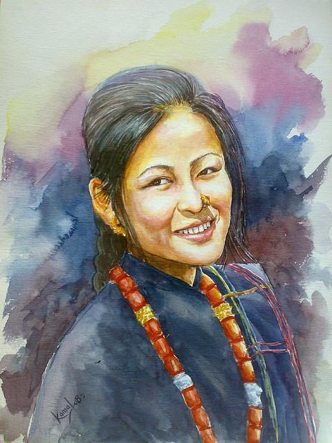woman of nepal