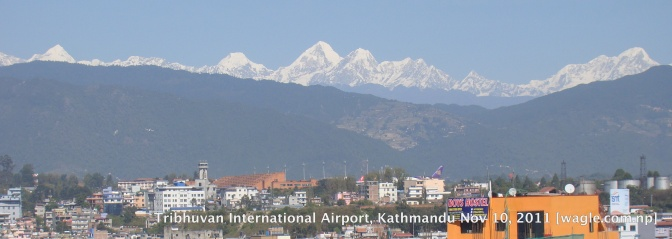 tribhuvan international airport kathmandu nepal