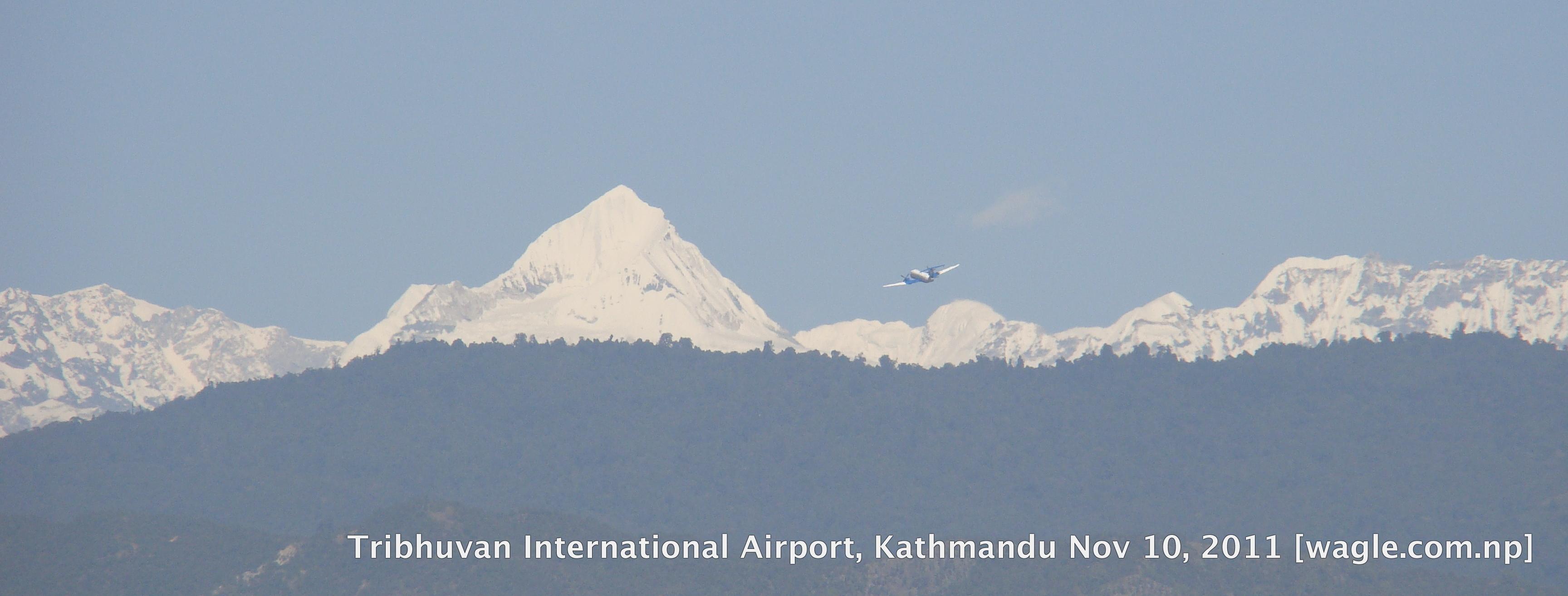 tribhuvan international airport kathmandu nepal